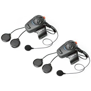 Sena SMH5D-02 Low-Profile Motorcycle and Scooter Bluetooth Headset / Intercom for Full-Face Helmet|wakiasedry