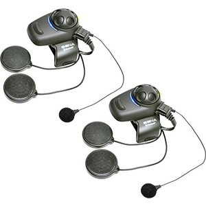 Sena SMH5D-FM-02 Motorcycle and Scooter Bluetooth Headset / Intercom with Built-in FM Tuner for Fu|wakiasedry
