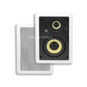5-1/4 Inches 3-Way High Power In-Wall Speaker スピーカー (Pair ペア)|wakiasedry