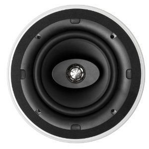 Kef CI200CR Round In-Ceiling Speaker スピーカー (White)|wakiasedry