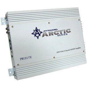 PYRAMID PB1217X ARCTIC SERIES 2-CHANNEL MOSFET AMPLIFIER (1600W)|wakiasedry