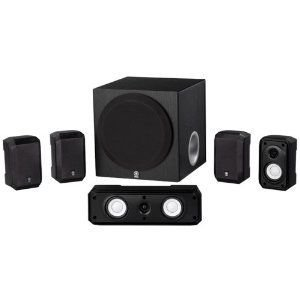 Yamaha ヤマハ NS-SP1800BL 5.1-Channel Home Theater Speaker スピーカー System|wakiasedry