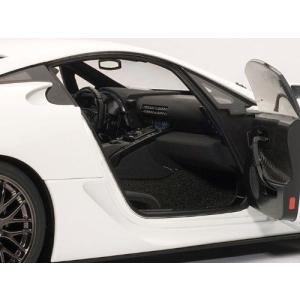 Lexus (レクサス) LFA Nurburgring Package 1/18 Whitest White AA78837 ミニカー ダイキャスト 自動車|wakiasedry|03