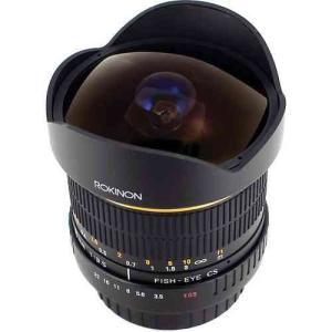 Rokinon ロキノン 8mm Ultra Wide Angle f/3.5 Fisheye Le...