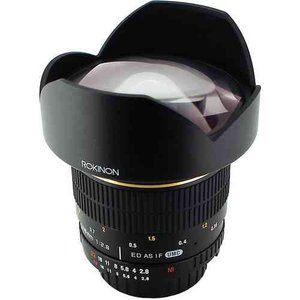 Rokinon ロキノン 14mm Ultra Wide-Angle f/2.8 IF ED UMC Lens 広角 For Nikon With Focus Confirm Chip|wakiasedry