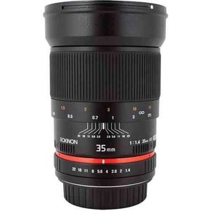 Rokinon ロキノン 35mm f/1.4 Wide-Angle US UMC Aspherical Lens 広角 for Nikon With Focus Confirm Ch|wakiasedry