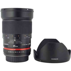 Rokinon ロキノン 35mm f/1.4 Wide-Angle US UMC Aspherical Lens 広角 for Olympus 4/3 (オリンパス4/3 wakiasedry 03