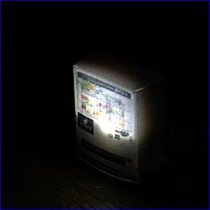 Nゲージ光る自販機A【メール便可】