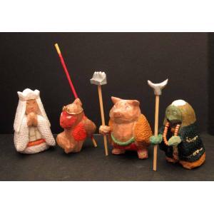 ねえ君、今日は何だかとても寒いねぇ ぞぞ工房 風祭美彩 お題で木彫