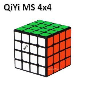 安心の保証付き 正規販売店 QiYi MS 4x4x4 ブラック 磁石搭載 black 4x4x4 ...
