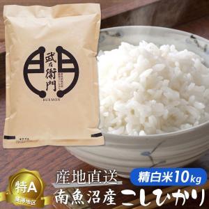 新米 / 米 お米 こしひかり コシヒカリ 魚沼産 白米10...