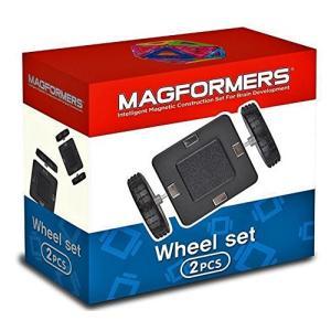 マグフォーマー 車輪アクセサリー MAGFORMERS マグネットブロック キッズ 磁石 パズル ブロック プレゼント ギフト 誕生日 3歳 知育玩具|wakuloom