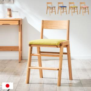 国産/完成品/天然木ビーチ材使用/高さ調整機能 学習チェア 学習椅子 デスクチェア 椅子 イス いす 木製 SPICA(スピカ) ビーチ 3色対応 杉工場|wakuwaku-land