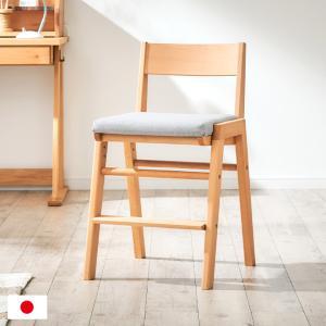 国産/完成品/天然木レッドオーク材使用/高さ調整機能 学習チェア 学習椅子 デスクチェア 椅子 イス いす 木製 SPICA(スピカ) レッドオーク 杉工場|wakuwaku-land