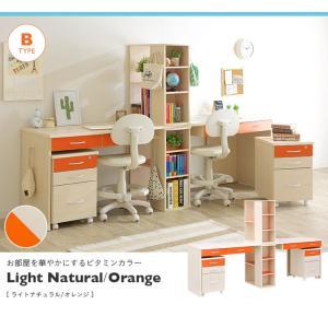 学習机 勉強机 学習デスク twin desk(ツインデスク) 7色対応|wakuwaku-land|08