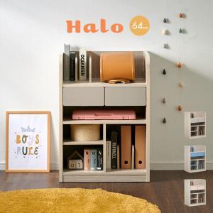 子供部屋 インテリア 収納 棚 幅64cm キャスター付き ...