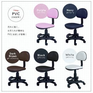 1年保証付き 学習机椅子 椅子 学習チェア 学習椅子 チェアー 603 HOP(ホップ) ブラック/レッド/ピンク/グリーン/ブルー|wakuwaku-land|04