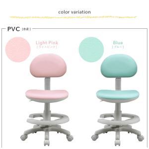 【新色追加】1年保証付き 椅子 昇降式 学習チェア 学習椅子 チェアー STEP(ステップ) 17色対応 ファブリック PVC|wakuwaku-land|03