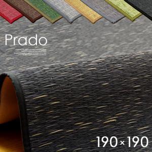 カーペット ラグ ラグマット ござ 国産 い草ラグ い草カーペット Prado(プラード) 約190×190cm 8色対応 wakuwaku-land