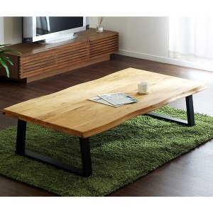 テーブル リビングテーブル 座卓 センターテーブル 木製 kohaku oak 150(コハク オーク 150)|wakuwaku-land