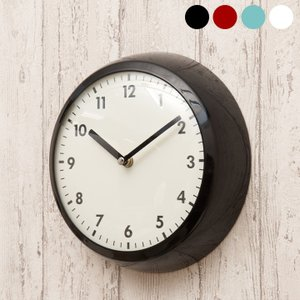 掛け時計 壁掛け時計 時計 おしゃれ 直径23.5cm Retro Clock(レトロクロック) 4色対応|wakuwaku-land