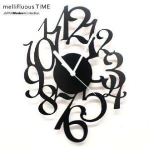 時計 デザイナーズ 壁時計 mellifluous TIME|wakuwaku-land