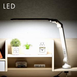 角度調節機能/調光機能/クランプタイプ 学習デスク用 学習机用 スリム スリムアーム型ライト LED デスクライト LDY-1907A-OH|wakuwaku-land