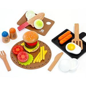 安心の正規品 ままごと 洋食屋さんセット 木製 マグネット式 調理器具|wakuwaku-land
