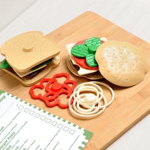 お店屋さんごっこ遊び ままごと おもちゃ たべものセット 食材 フードセット お店 サンドウィッチショップ GRT-STSA8587 ラッピング無料