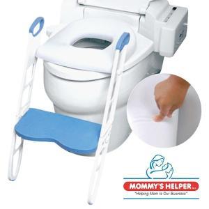 トイレ練習 トイレ 補助便座 乗せるだけ簡単設置 キッズ 子供 トレーニング 踏み台 MOMMY'S HELPER(マミーズヘルパー) ふかふかトイレトレーナー|wakuwaku-land