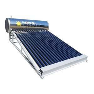 【太陽熱温水器】お湯も心も毎日わくわく!タダでお湯を沸かす「わくわくそーら150-R」残留塩素・カルキ臭を除去できる。オールステンレス製屋根タイプ|wakuwaku-solar