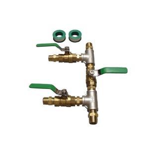 太陽熱温水器用 配管分岐/合流セット(2箇所分)|wakuwaku-solar