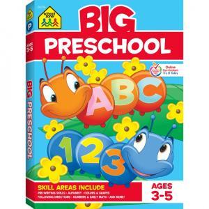 BIG PRESCHOOL ワークブック 幼児向け 英語 スクールゾーン出版社 AGES 3-5