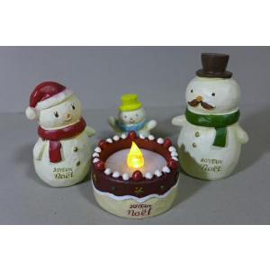クリスマスケーキキャンドル5品セット 6XM10 LEDキャ...