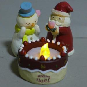 クリスマスケーキキャンドル4品セット 6XM11 LEDキャ...
