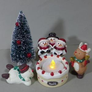 クリスマスケーキキャンドル6品セット 6XM14 LED キ...