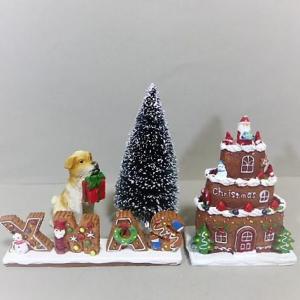 クリスマス ケーキハウスの4品セット 8XM8 クリスマス ...