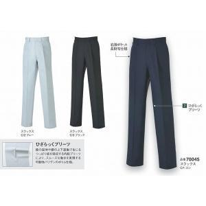 大川被服 スラックス(春夏)kansai uniform カンサイユニフォーム K7004 (70045) 70〜88cm wakuwakusunrise