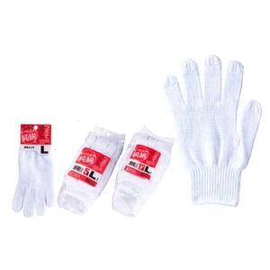 川西工業KAWANISHI作業手袋 滑り止め手袋 2211 つぶてソフト S・M・Lサイズ シロ 12組×5セット wakuwakusunrise
