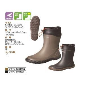 弘進ゴムKOHSHIN RUBBER作業靴   MW-302 マックウォーカー S〜3L ブラウン・ブラック |wakuwakusunrise