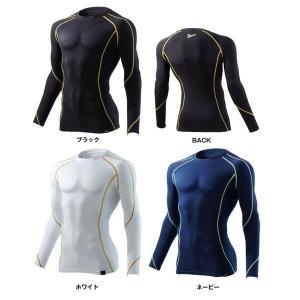 Jawinジャウィン冬用インナーシャツ自重堂 作業服 作業着 52034 コンプレッション ロングスリーブ S〜LL|wakuwakusunrise