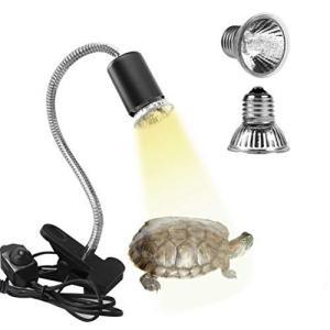 亀ライト 両生類用ライト 25W+50Wアナログ太陽 Eilinco爬虫類ライト 熱帯・亜熱帯 UVA+UVBライト バスキングライト2つラ|wakuwakutown