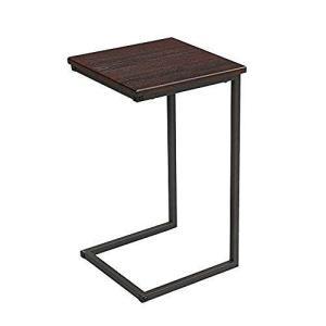 サイドテーブル ブラウン 幅30×奥行30×高さ52cm GST3030-BR wakuwakutown
