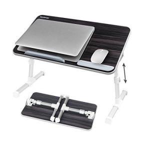 NEARPOW 【改良版】 折りたたみ式 ノートパソコンスタンド ベッドテーブル 4つ組み立て方 両・右・左利き対応 ローテーブル 机上台 wakuwakutown