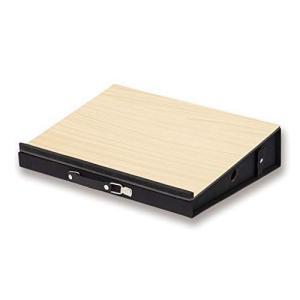 アスカ 机上台 ポータブルデスク DSK03 引き出し収納 持ち運び可 ノートパソコン 学習 読書 角度10°木目|wakuwakutown