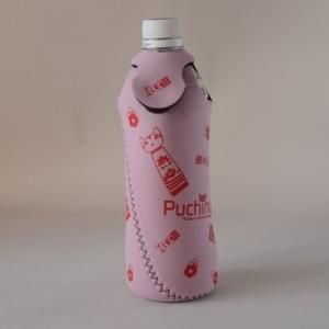 ペットボトルホルダー ピンク  こけしぷちにゃ 石巻生まれの小物 Puchinya