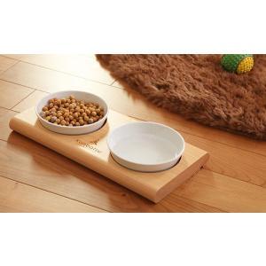 kanbatsuカンバツ トゥーミール ダブルディッシュ ペット用 食器|walajin-dog