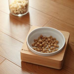 kanbatsuカンバツ トリム シングルディッシュ ペット用 食器|walajin-dog