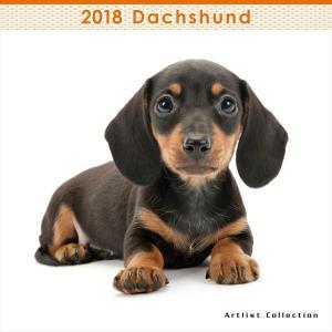THE DOG 2018年 ダックスフンド ミニ カレンダー walajin-dog
