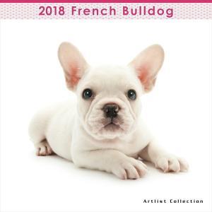THE DOG 2018年 フレンチブルドッグ ミニ カレンダー walajin-dog
